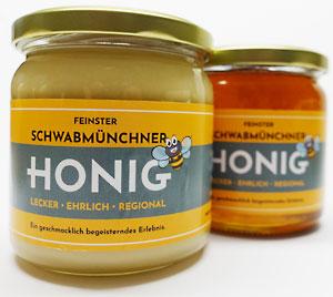 Cremiger und flüssiger Honig aus Schwabmünchen