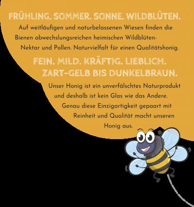 Honig aus Schwabmünchen: Fein, Mild, Kräftig, Lieblich