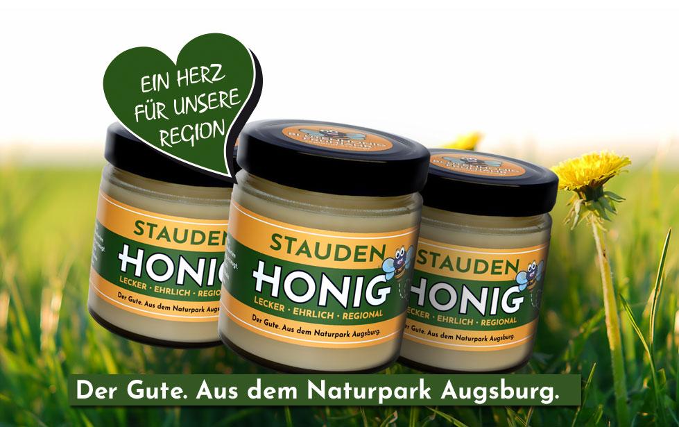 Staudenhonig - Honig aus eigener Imkerei aus dem Naturpark Augsburg Westliche Wälder